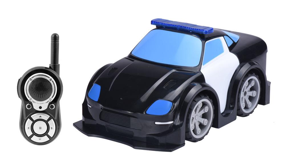 Policejní RC auto ovládané hlasem 1:24