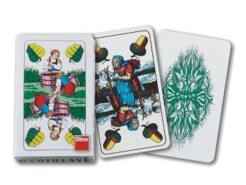 Karty hrací dvouhlavé