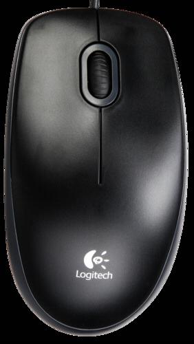 Myš Logitech B100 černá
