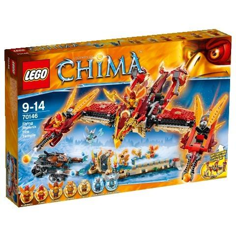 LEGO CHIMA Létající ohnivý chrám Fénix