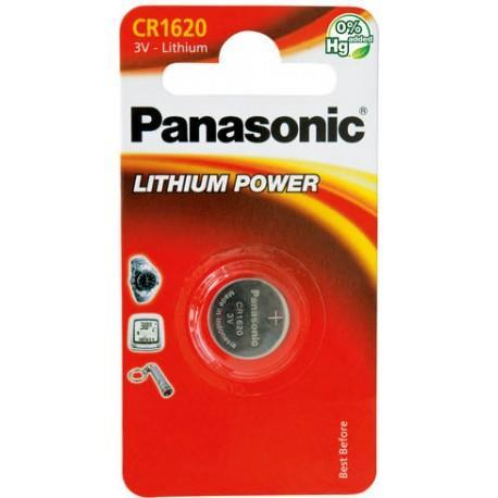 Panasonic Lithium Power knoflíková baterie CR2016, 1 ks, Blister