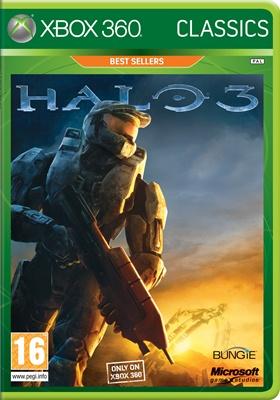 Microsoft XBox 360 hra Halo 3