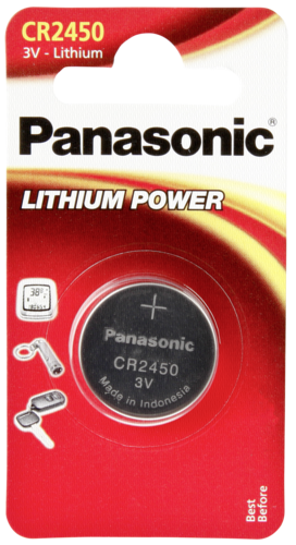 1 Panasonic CR 2450