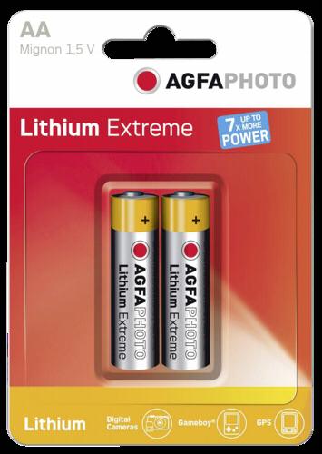 1x2 AgfaPhoto extreme Lithium Mignon AA