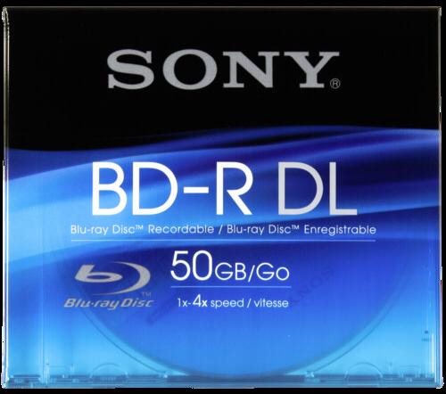 Média BLU-RAY SONY 50GB, 1ks, nepřepisovatelné