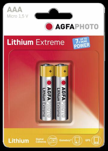 1x2 AgfaPhoto extreme Lithium Micro AAA