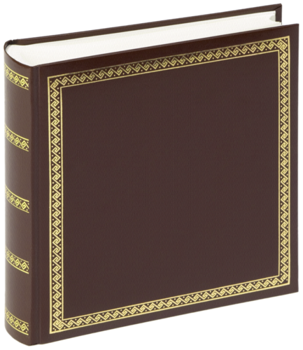 Album Walther Das schicke Dicke 26x25 100 stran, hnědé