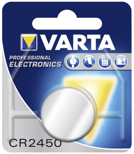 1 Varta electronic CR 2450