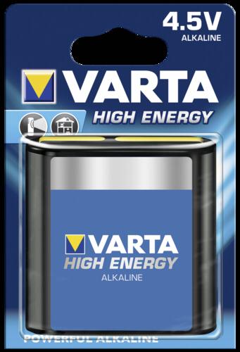 1 Varta High Energy 3 LR 12 4,5V-Blok