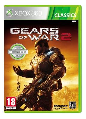 XBOX 360 Gears of War 2 Classics CZ / HU / SK PAL DVD