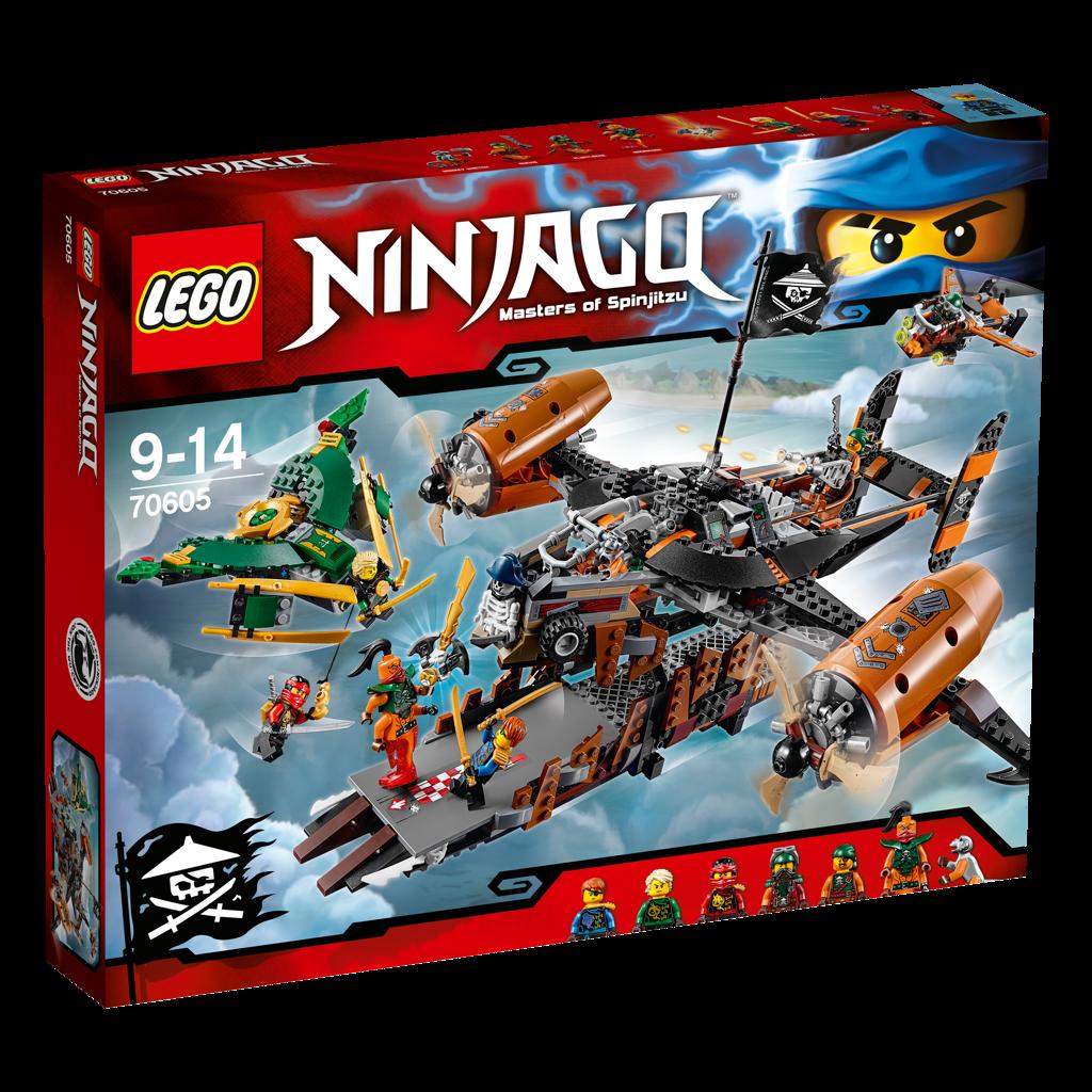 LEGO NINJAGO 70605 Misfortune`s Keep