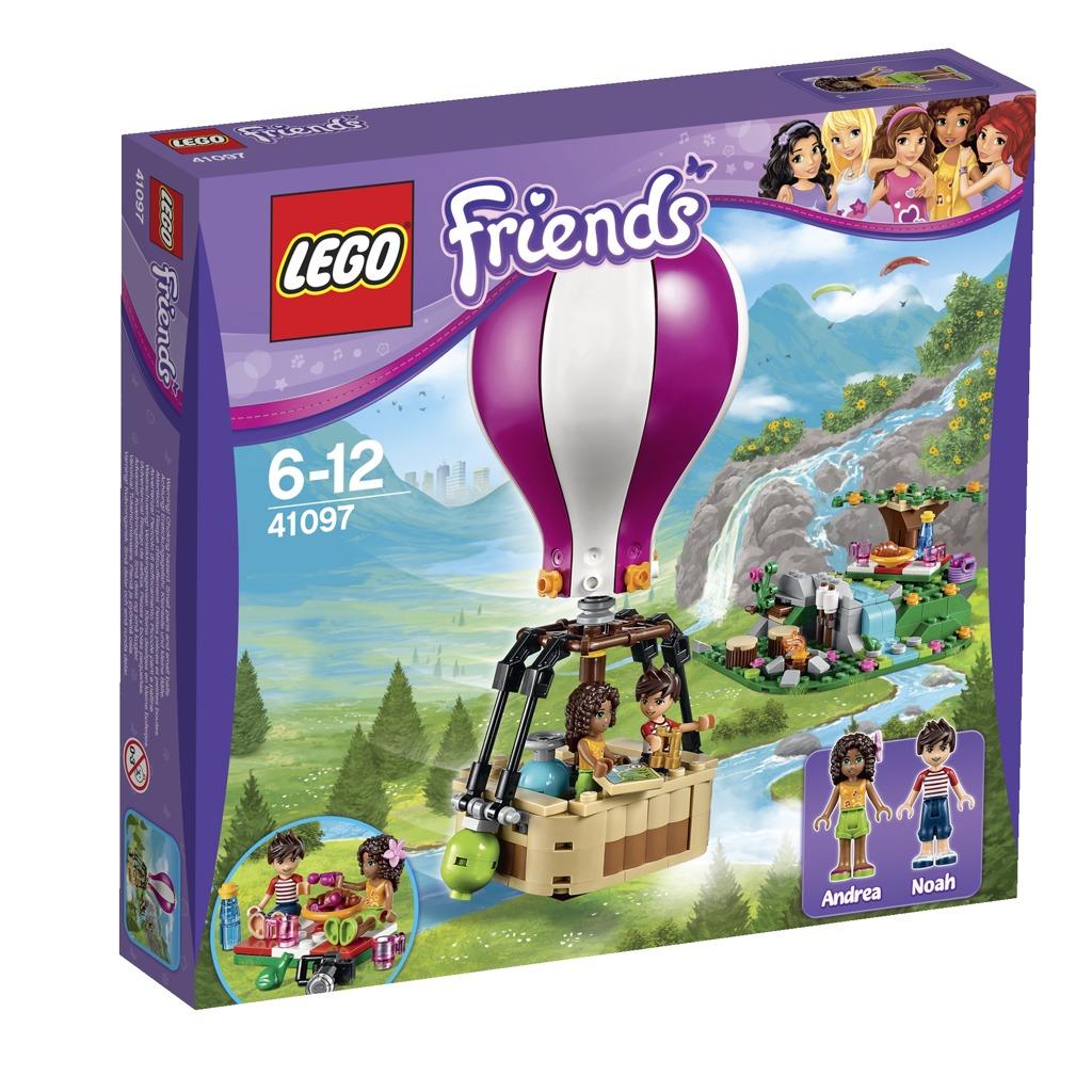 LEGO Friends Horkovzdušný balón v Heartlake