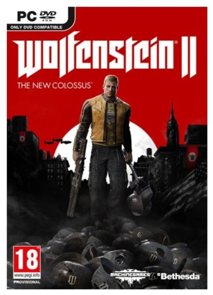 Bethesda WOLFENSTEIN II THE NEW COLOSSUS PC hra