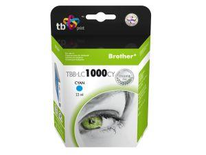 Ink. kazeta TB kompat. s Brother LC1000C 100% N