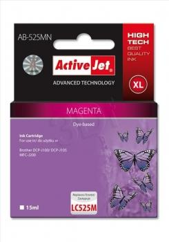 Ink ActiveJet AB-525MN | Magenta | 15 ml | Brother LC525M