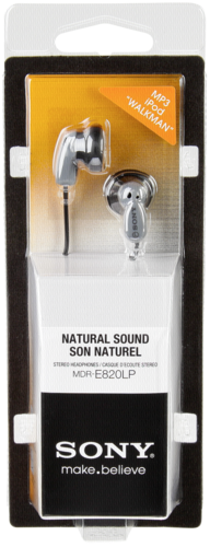 Sluchátka Sony MDR E820LP