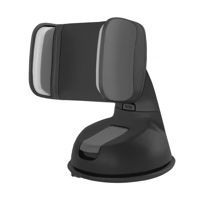 Qoltec Nastavitelný držák na sklo auta pro smartphone 2.0-6.0'' černá