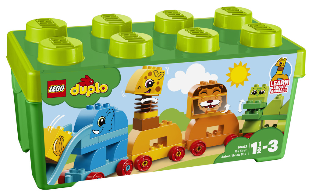 LEGO DUPLO 10863 My First Animal Brick Box