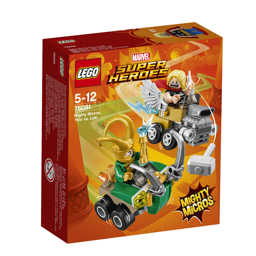 Lego Super Heroes Mighty Micros: Thor vs. Loki