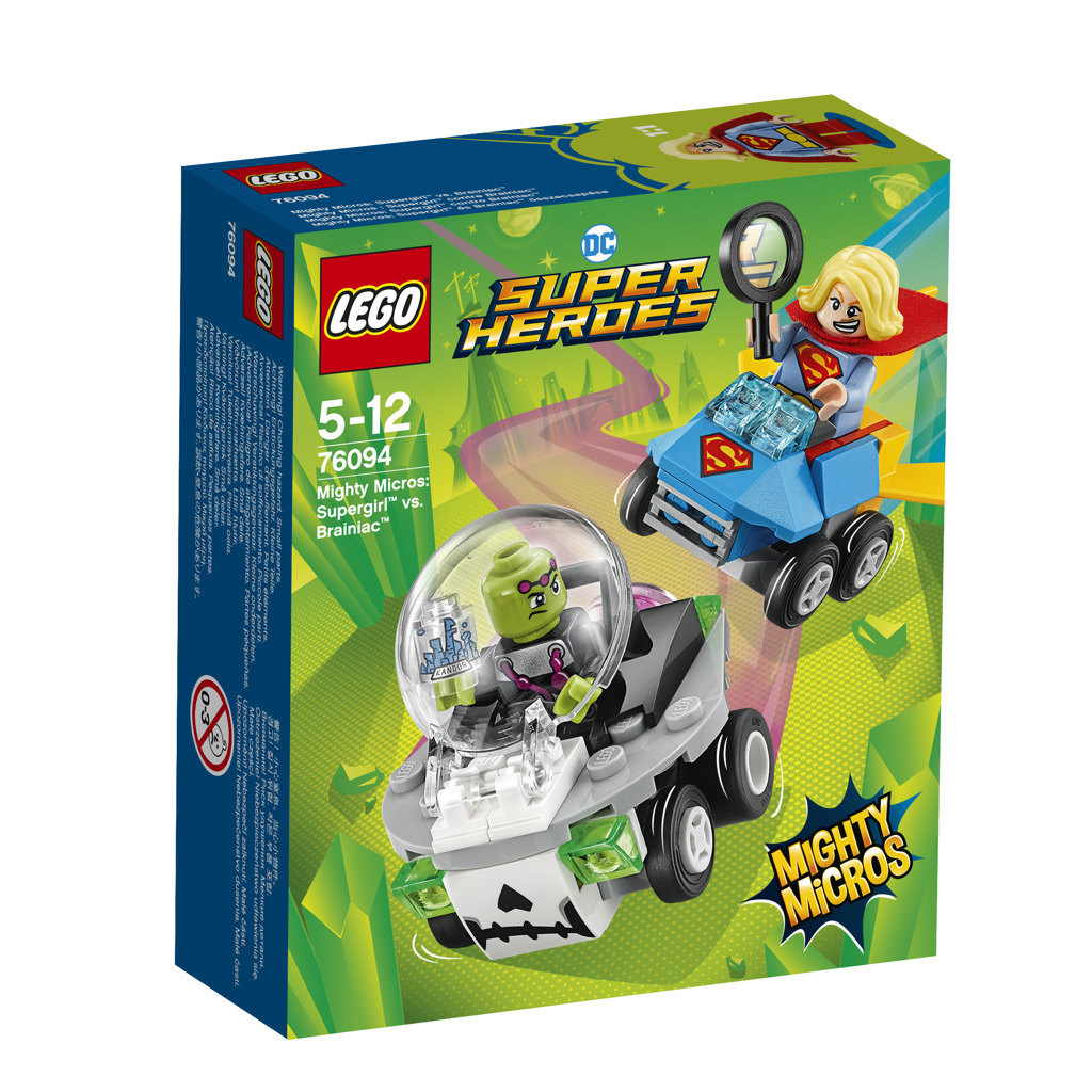 Lego Super Heroes Mighty Micros: Supergirl™ vs. Brainiac™