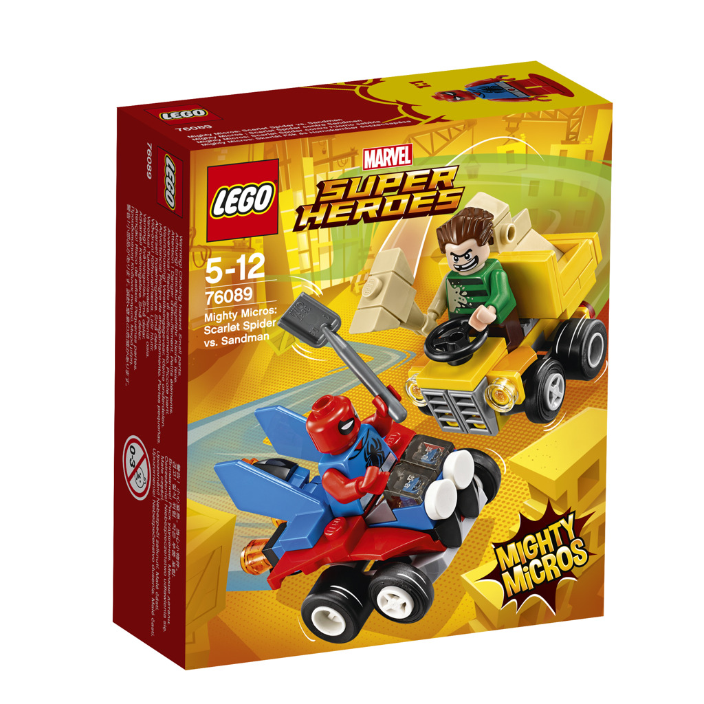 Lego Super Heroes Mighty Micros: Scarlet Spider vs. Sandman