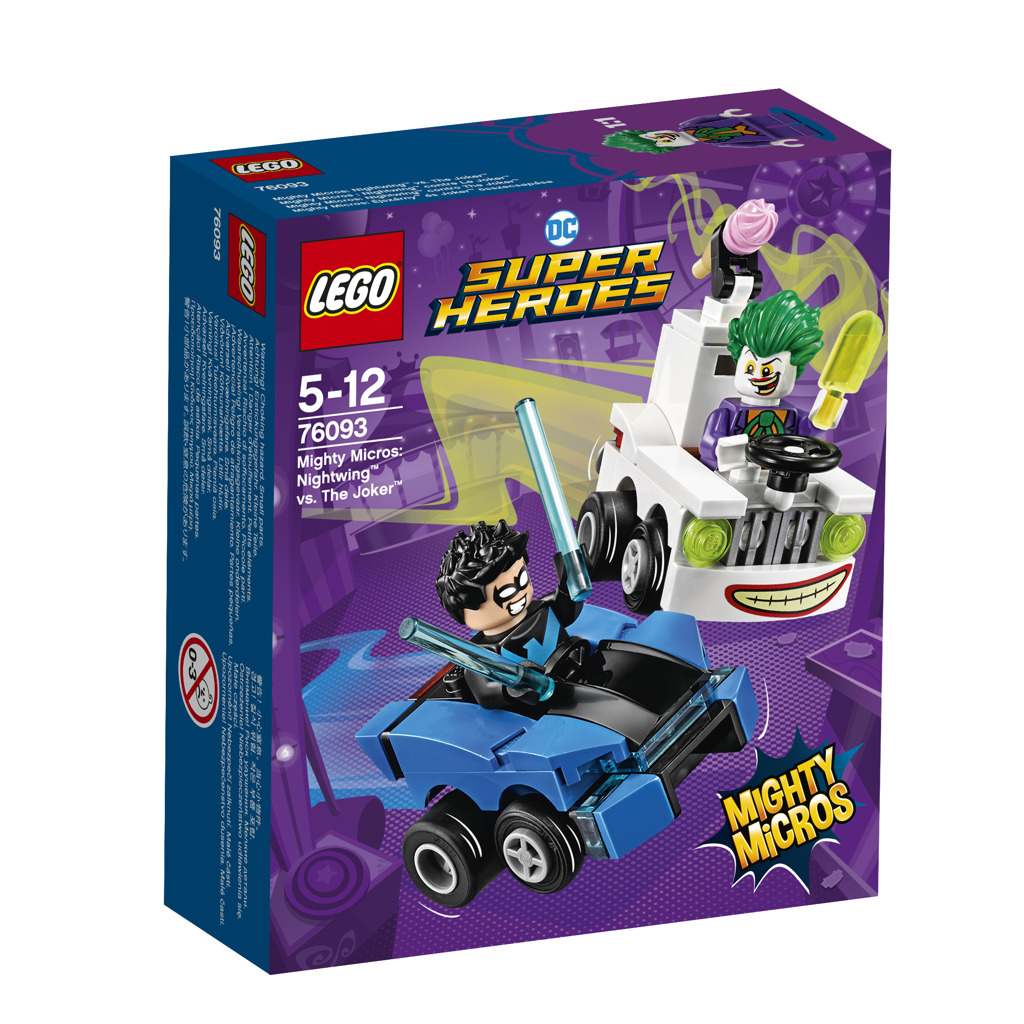 Lego Super Heroes Mighty Micros: Nightwing™ vs. Joker™