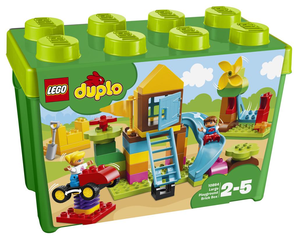 Lego Duplo Velký box s kostkami na hřiště
