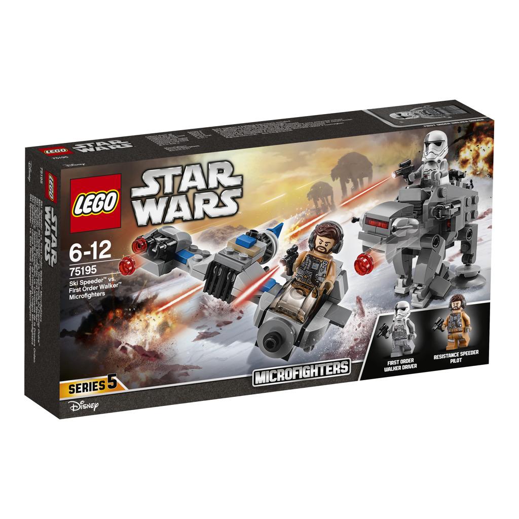 LEGO Star Wars 75195 Ski Speeder vs. First Order Walker MF