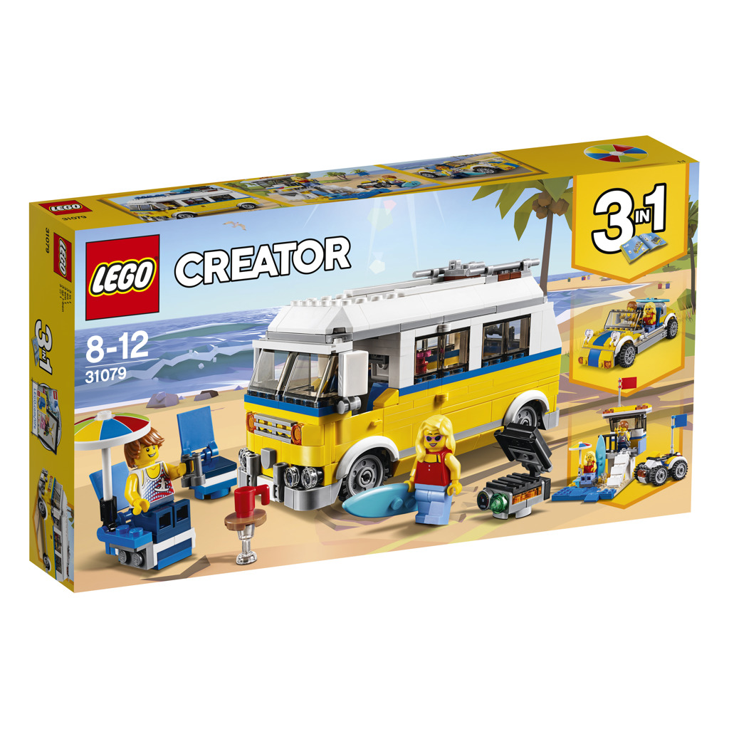 Lego Creators Surfařská dodávka Sunshine
