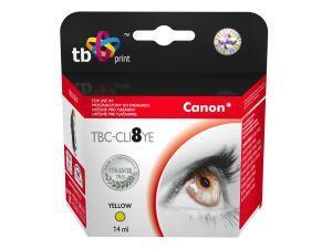 Ink. kazeta TB kompat. s Canon CLI-8Y 100% new