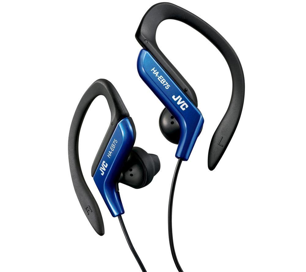 Sluchátka JVC HA-EB75-A modrá