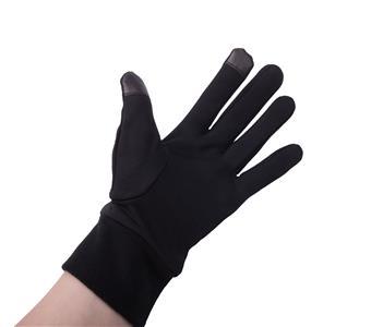 Natec Rukavice pro dotykové displeje (smartphony/tablety/PSP), fleece, černé