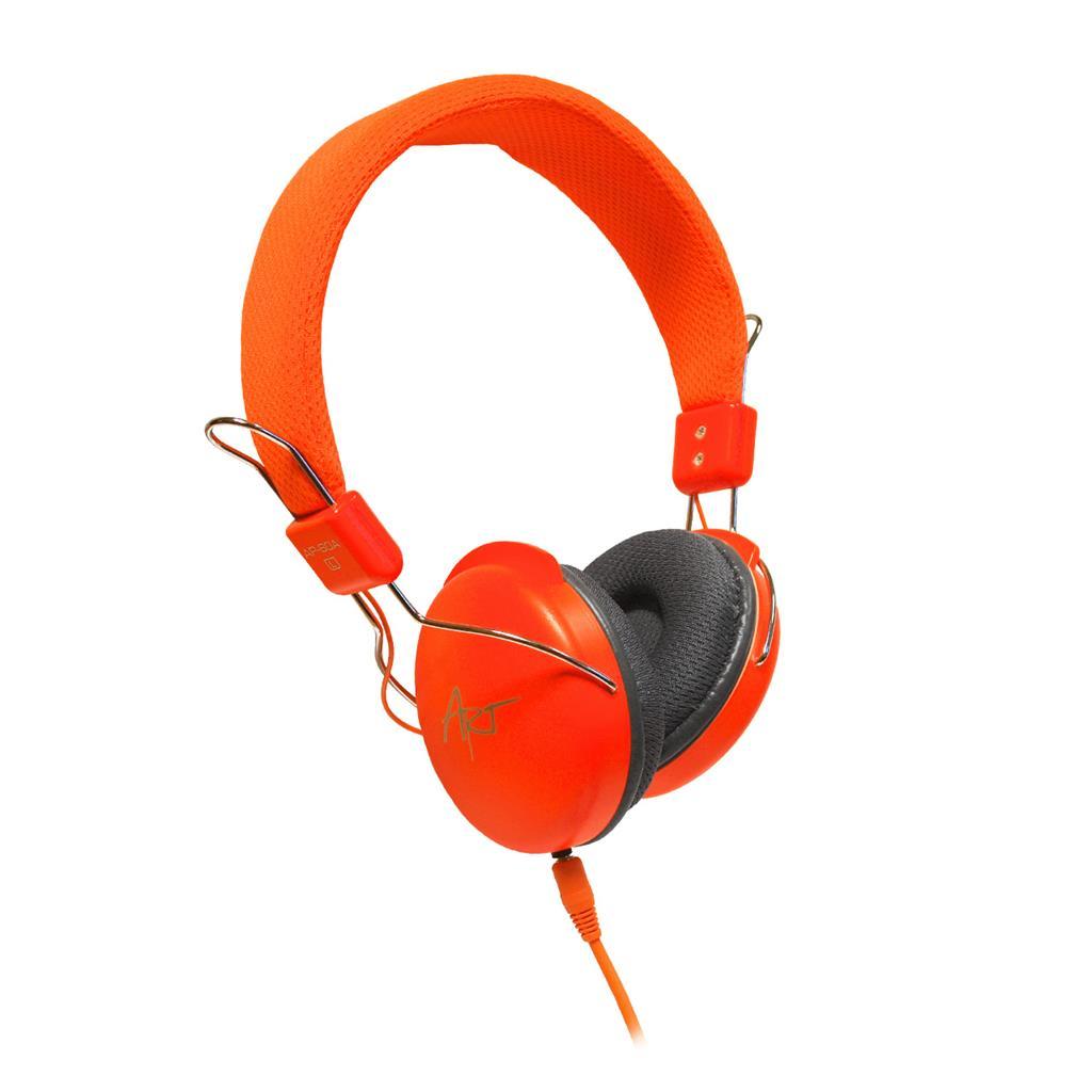 ART Multimedia Headphones STEREO with microphone AP-60MA orange