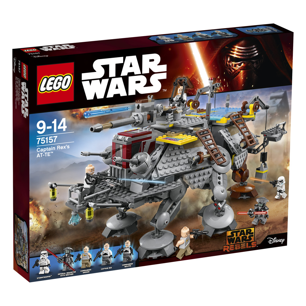 Lego Star Wars AT-TE kapitána Rexe