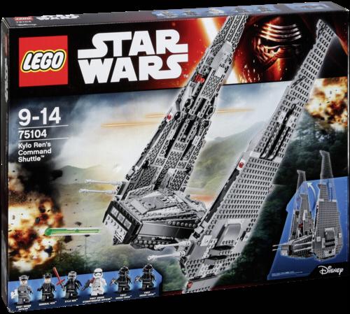 LEGO Star Wars 75104 Kylo Rens Command Shuttle