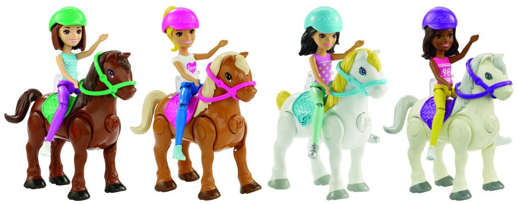 Barbie mini panenka a pony