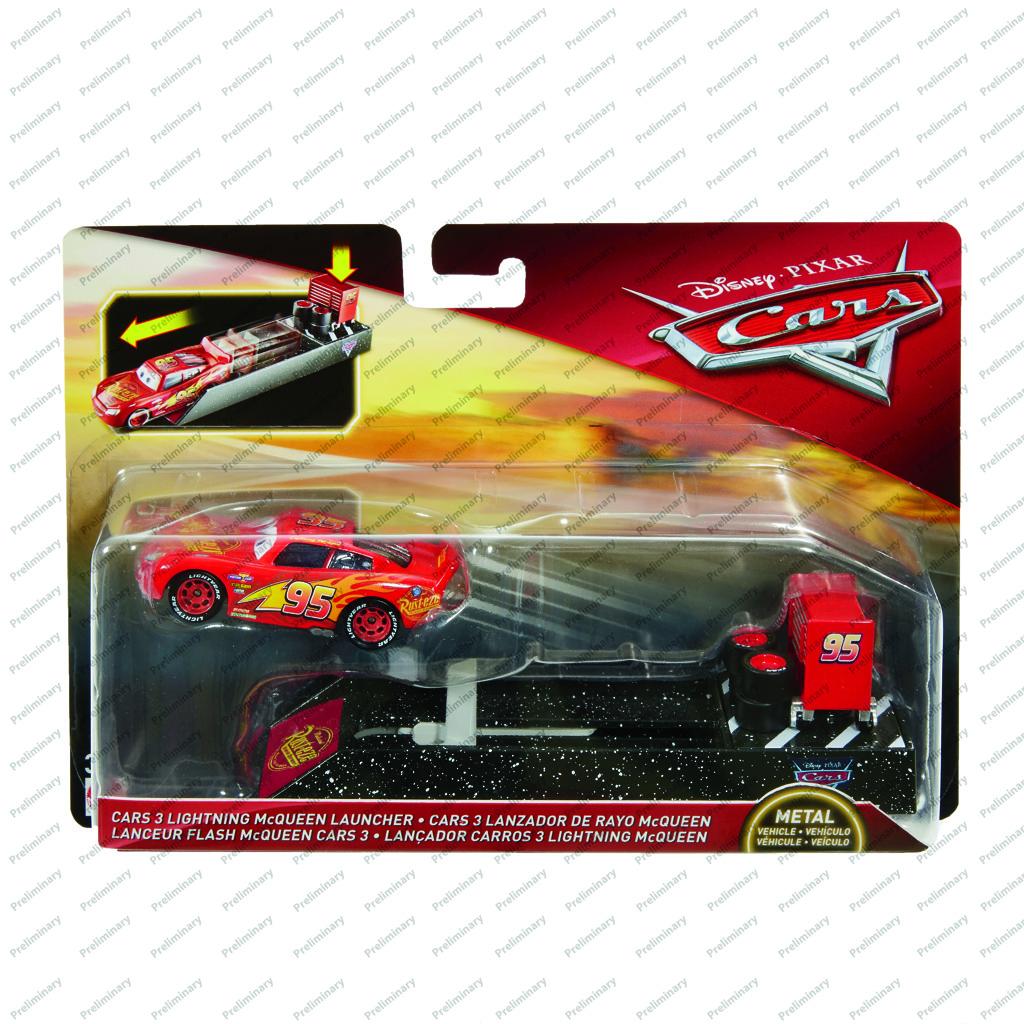 Cars 3 vystřelovač s autíčkem