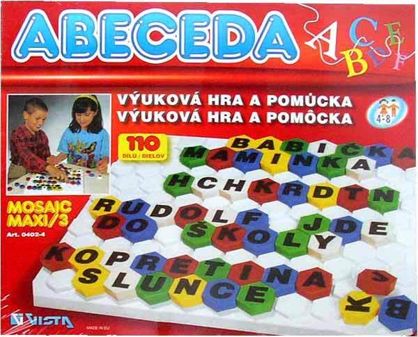 Mosaic Maxi /3 - Abeceda