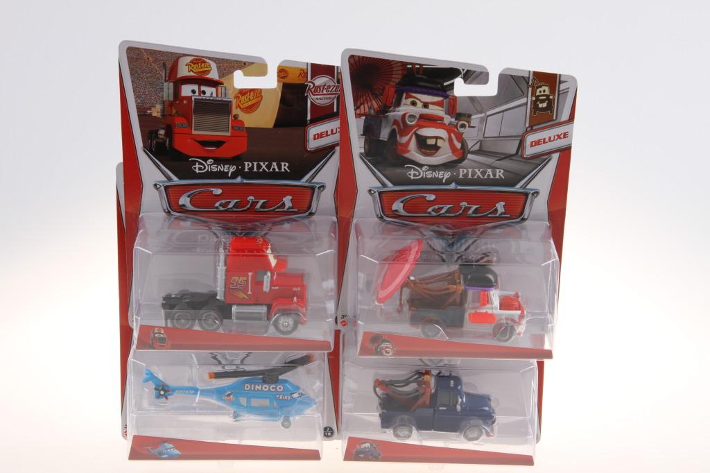 Mattel Cars kolekce velké auto