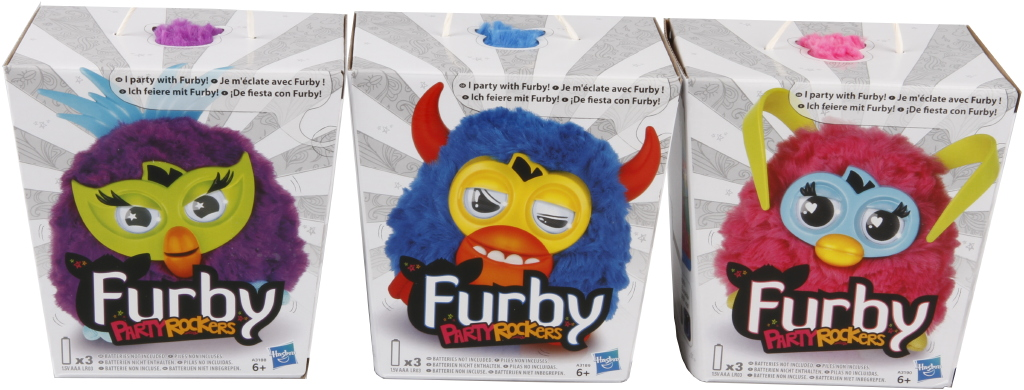 Furby party rokeři