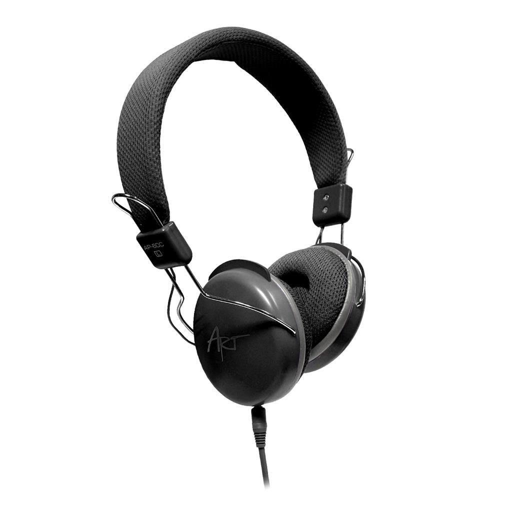 ART Multimedia Headphones STEREO with microphone AP-60MD black