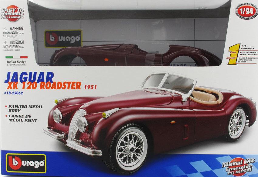 Bburago KIT Jaguar XK 120 Roadster 1951, 1:24