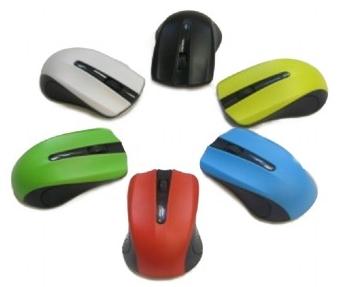 Myš Gembird MUSW-101, černá, bezdrátová, USB nano receiver