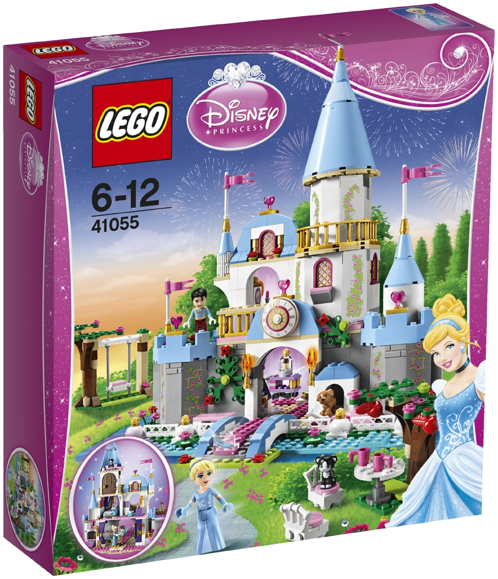 LEGO Disney Popelčin romantický zámek