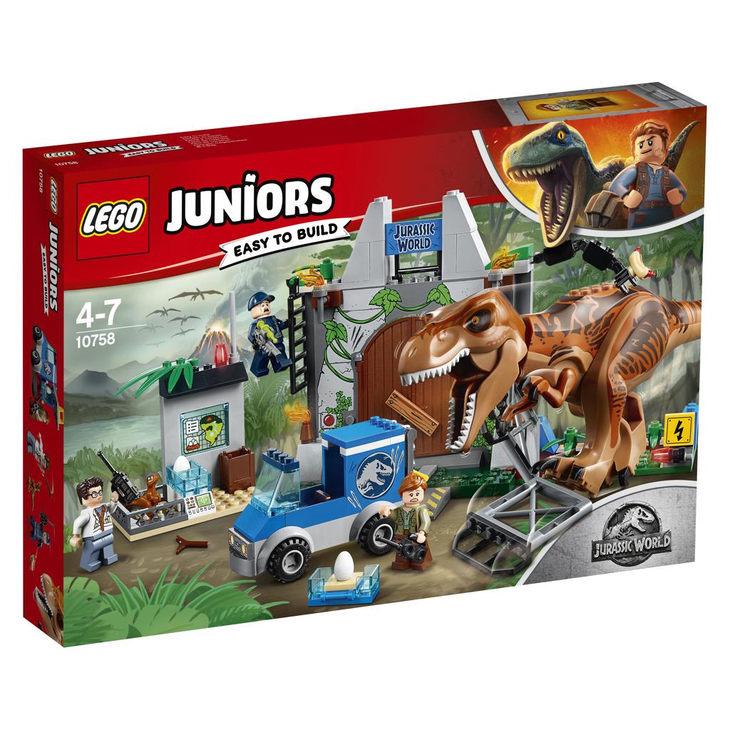 LEGO Juniors Jurassic World 10758 T.Rex Breakout Set