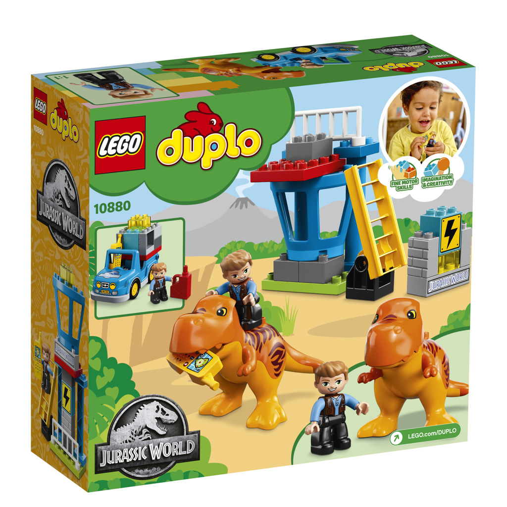 LEGO DUPLO 10880 Jurassic World T.Rex Tower