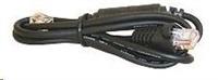 Kabel 10P10C-6P6C-12V pro pokladní zásuvky,černý pro propojení s CHD3050