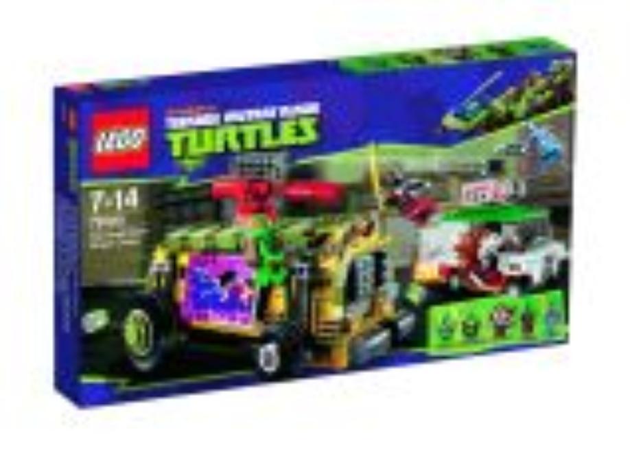 LEGO Turtles Pouliční honička s Shellraiserem (79104)