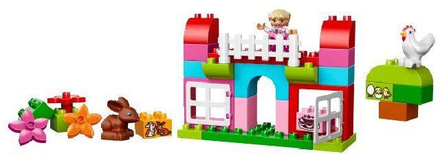 LEGO® DUPLO® Růžový box plný zábavy