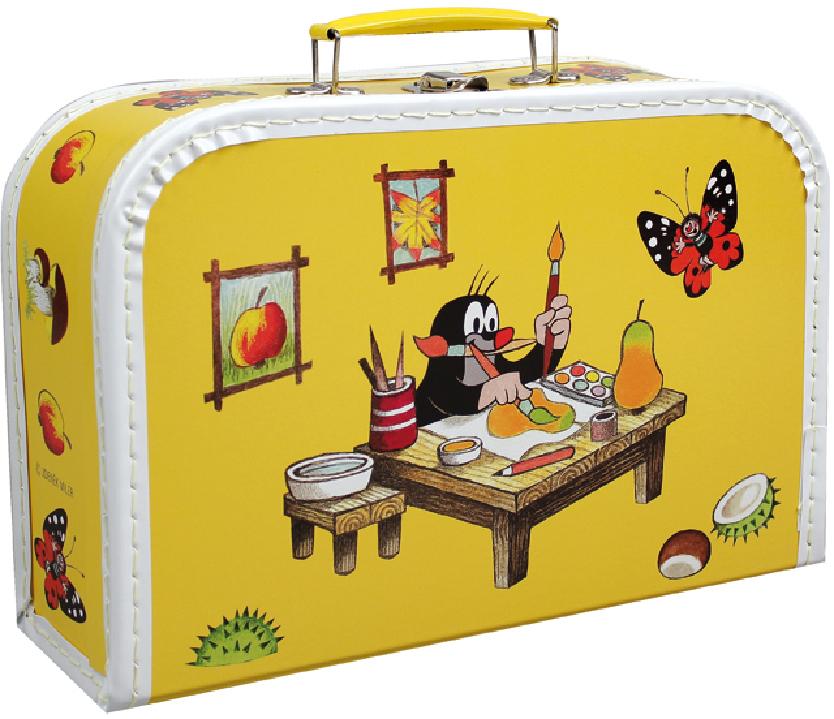 Kufřík Krtek a Malíř 30 cm